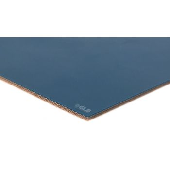 E-Line 2-Ply FDA Blue PU Matte Mono AS  Conveyor Belt