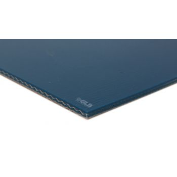 E-Line 2-Ply Blue PVC Mono Conveyor Belt