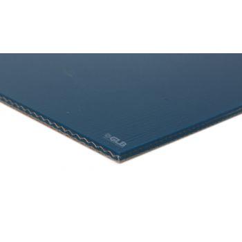 E-Line 2-Ply Blue PVC Mono Conveyor Belt