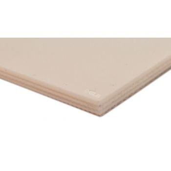 3-Ply E-Line White PVC Mono Conveyor Belt