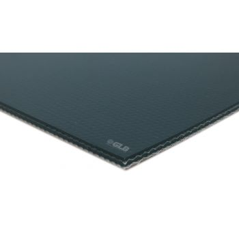 E-Line 2-Ply Green PVC Mono AS Conveyor Belt