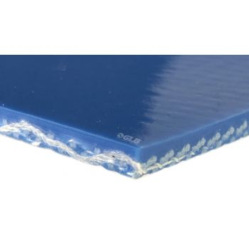 Interwoven 150 - Blue COS - Low Temp Conveyor Belt - 1 ply