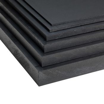 Polyethylene PE 500 / PE-HMW - Black AST - Anti-Static sheets