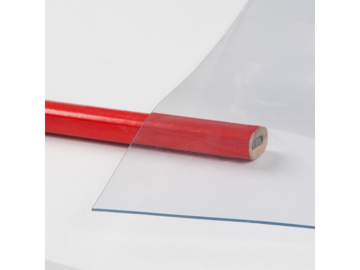 Flexible Crystal Clear Pvc Roll 0 6mm