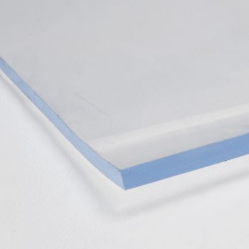 Flexible Crystal Clear PVC roll - 3mm
