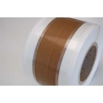 PTFE heat sealer tape - 0.08mm -  with PP-glass filament tape