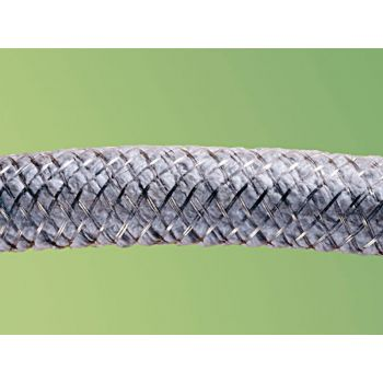 Ceramic fiber rope - with wire mesh