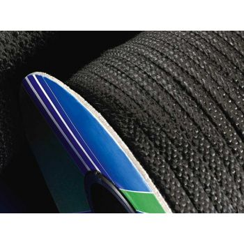Black glass fibre rope