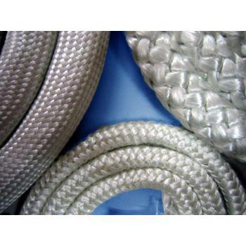 Braided glass fibre cord