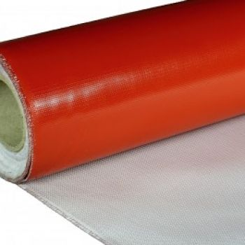 Silicone coated Glass Fabric - GTK08880 - 0.8 mm - 880g per m2 - single coated