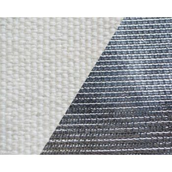 500g m2 Texturized Fiberglass Cloth Aluminized On One Side