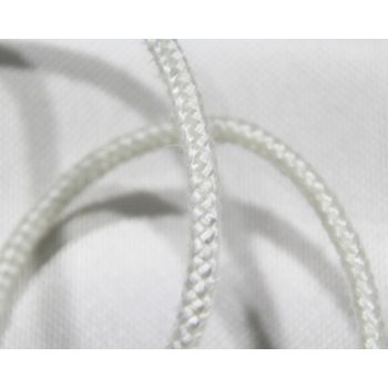 Braided Round Fireplace Gasket Ropes- Fireproof Texturized ET-glass Fiber