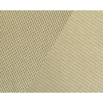 907g m2 High Silica Fiber Heat Resistant Clothing With Vermiculite Coating On Both Sides