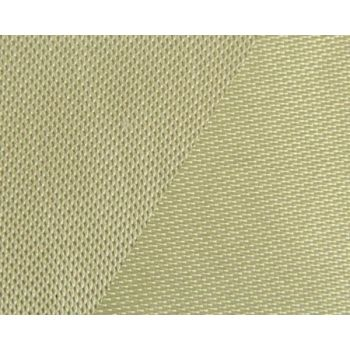 500g m2 High Silica Fiber Heat Resistant Cloth With Vermiculite Coating On Both Sides