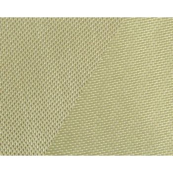 500g m2 Silica Fiber Heat Resistant Cloth With Vermiculite Coating On Both Sides