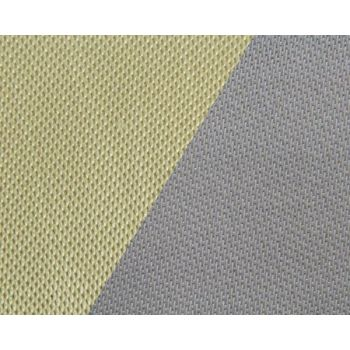 566g m2 Silica Fiber Heat Resistant Cloth With PU Coating On One Side