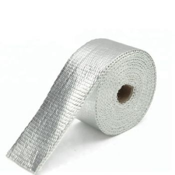 High Temp Texturized High Silica Fiber Woven Tapes With Alu Coating
