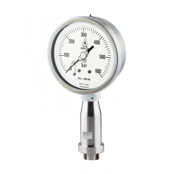 Food industry pressure gauge type OM