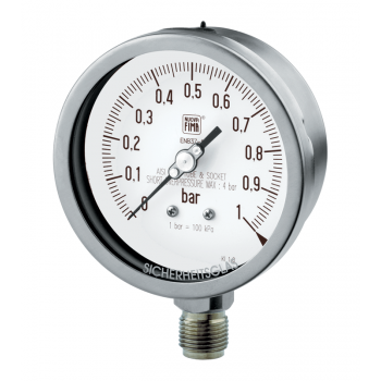 Process industry pressure gauge type MGS19 DN100-150