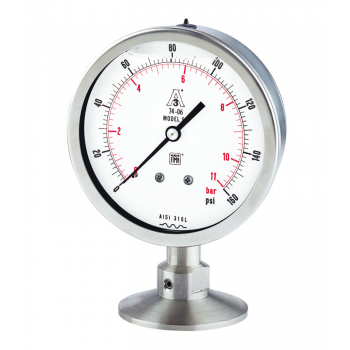 Sanitary pressure gauge - type SP
