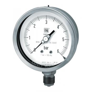 Oil industry pressure gauge type MGS36 DN100-150