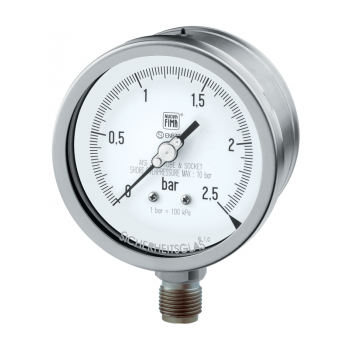 Process industry pressure gauge type MGS21 DN100-150