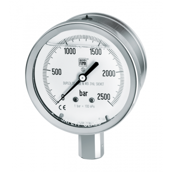 Process industry pressure gauge type MGS22 DN100-150