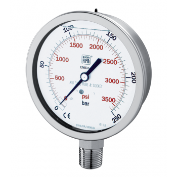 Process industry pressure gauge type MGS44 DN100