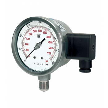 Pressure transmitter with local readout MT 18 DN100