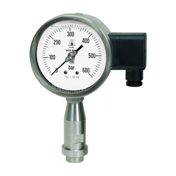 Pressure transmitter with local readout MT OM DN100 - for homgenizers