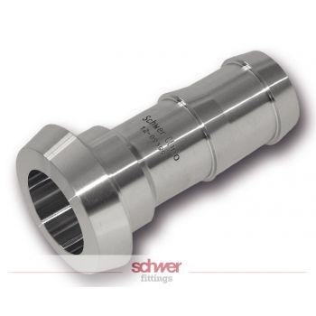 Aseptic conical hose ferrule - DIN 11854