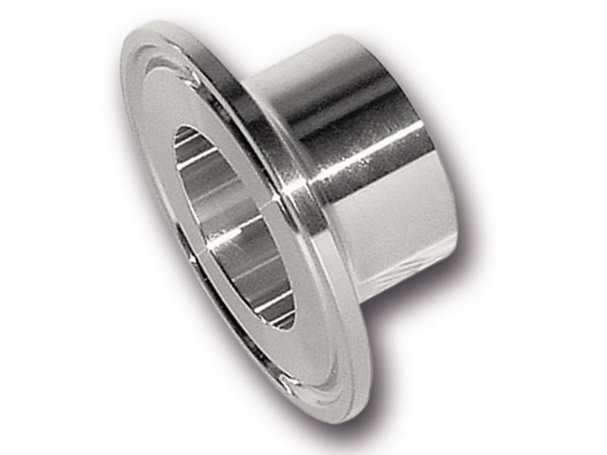 Clamp welding flange by din