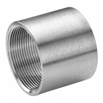 Stainless socket, seamless DIN EN 10241