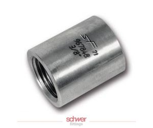 Stainless threaded couplings