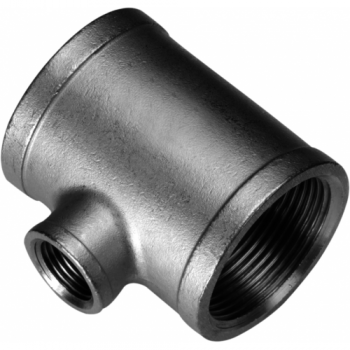 Stainless threaded reducing tee