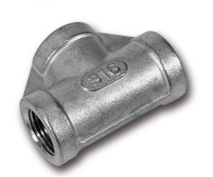 Stainless threaded tees
