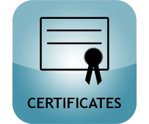by Certificates
