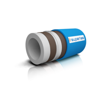Flexible hose for suction and discharge of milk and liquid dairy products - 10bar, 120°C