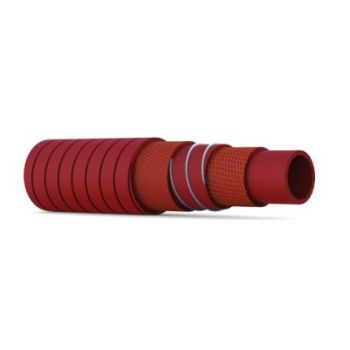 Hot Water Hose - silicone - 5bar - with helix - SILFLEX
