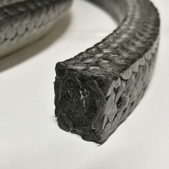 Graphite Packing 8099Н -  expanded graphite yarn, reinforced with inconel wire