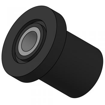 Centre bonded antivibration rubber mounts