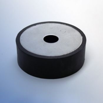 Circular Anti-vibration Mount - with Steel Plates
