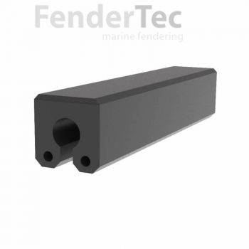 Composite Rubber Fenders - Keyhole Design