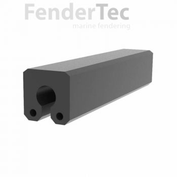 Rubber Fenders - Keyhole Design
