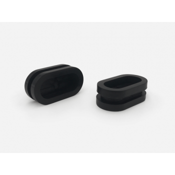 Blind Hole Oval Rubber Grommets