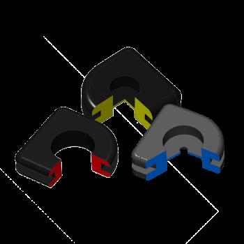 U-Shape Rubber Grommets
