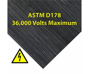 ASTM D178 Electrical matting