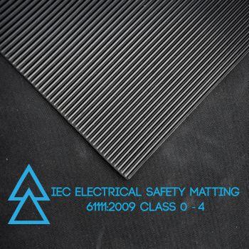 Electrical Safety Matting - IEC 61111:2009 - CLASS 0 - 1,000 VOLTS