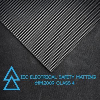 Electrical Safety Matting - IEC 61111:2009 - CLASS 4 - 36,000 VOLTS