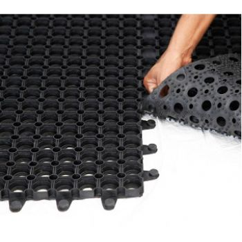 Interlocking Rubber Grass Mats